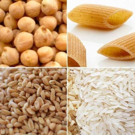 Pasta riso cereali legumi