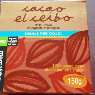 Cacao el ceibo altromercato