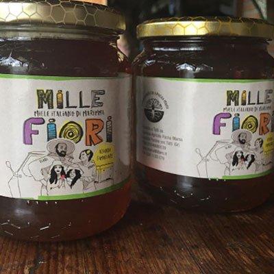 miele millefiori castagno - pacha mama - pulmino contadino