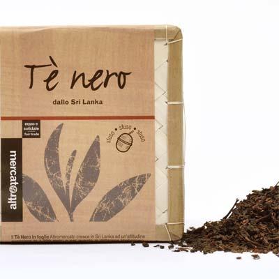 Tè nero foglie Altromercato - pulmino contadino