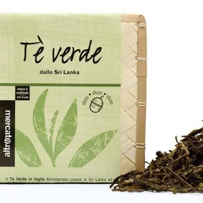 Tè verde in foglie - pulmino contadino