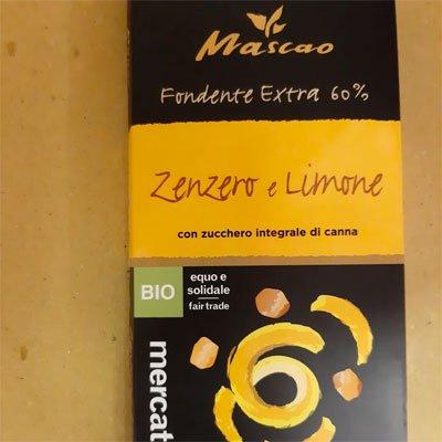 mascao zenzero limone - altromercato - pulmino contadino